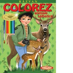 Razvan. Colorez animale salbatice