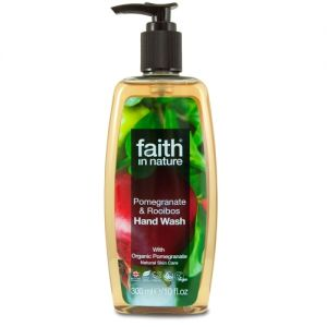 Sapun lichid cu rodie si rooibos, Faith in Nature, 300 ml (FN024)