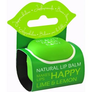 Balsam natural de buze cu lime si lamaie, 7 g, Beauty Made Easy (BME002)