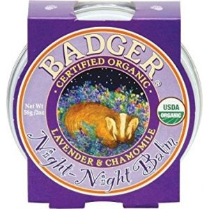 Mini balsam pt un somn linistit, Night-Night Baby Badger, pt copii, 21 g (BDG005)