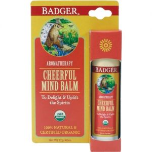 Balsam aromaterapie, Cheerful Mind, Badger, 17 g (BDG016)
