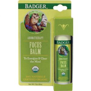 Balsam aromaterapie, Focus Mind, Badger, 17 g (BDG018)