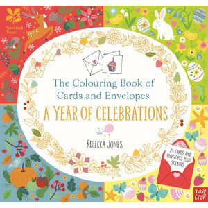 The Colouring Book of Cards and Envelopes: A Year of Celebrations
