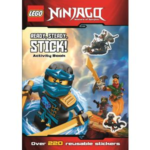 Lego® Ninjago: Ready, Steady, Stick! (Sticker Activity Book)