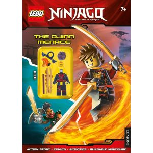 Lego® Ninjago: The Djinn Menace (Activity Book with Minifigure)