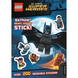 Lego® DC Comics Super Heroes: Batman Ready, Steady, Stick! (Sticker Activity Book)