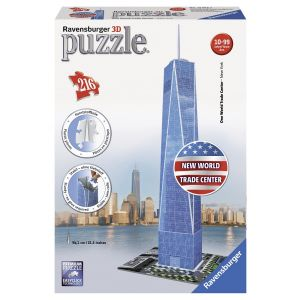 Puzzle 3d World Trade Center, 216 Piese